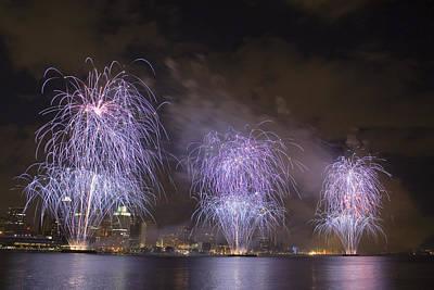 Fireworks Print by Gary Marx