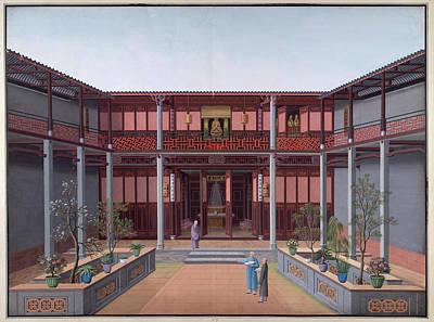 Honam Temple Print by British Library
