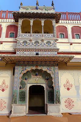 Harem Photograph - Jaipur, Rajasthan, India by Charles O. Cecil