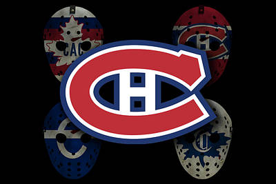 Hockey Photograph - Montreal Canadiens by Joe Hamilton