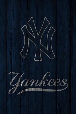 Present Photograph - New York Yankees by Joe Hamilton