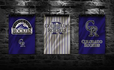 Baseball Uniform Photograph - Colorado Rockies by Joe Hamilton