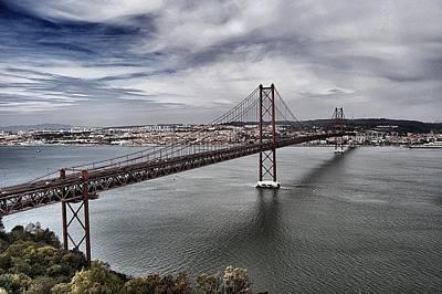 25 De Abril Bridge IIi Print by Marco Oliveira