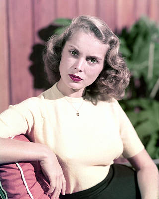 Janet Photograph - Janet Leigh by Silver Screen