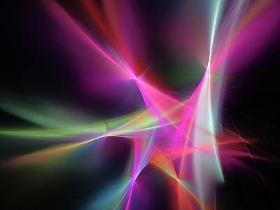 Bright Colours Photograph - Light Pattern by Alfred Pasieka