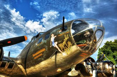 Nose Art Photograph - 25 Missions by Mel Steinhauer