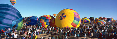 25th Albuquerque International Balloon Print by Panoramic Images