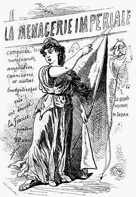 Liberating Painting - Paris Commune, 1871 by Granger
