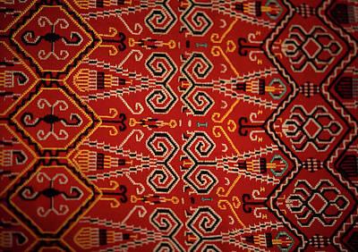 Motif From Antique Asian Textile (pr Print by Jaina Mishra