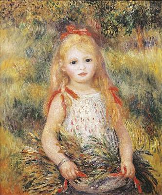 Gleaners Photograph - Renoir, Pierre-auguste 1841-1919 by Everett