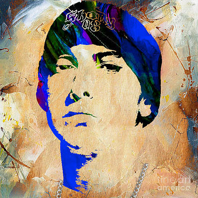 Rap Mixed Media - Eminem Collection by Marvin Blaine
