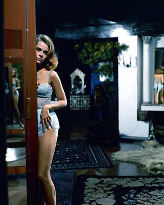 Jane Fonda Print by Silver Screen