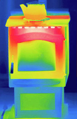 Thermogram Print by Science Stock Photography