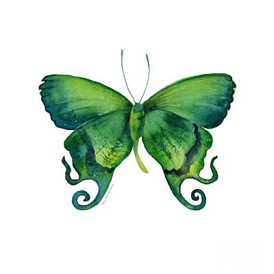 Iridescent Painting - 29 Arcas Butterfly by Amy Kirkpatrick
