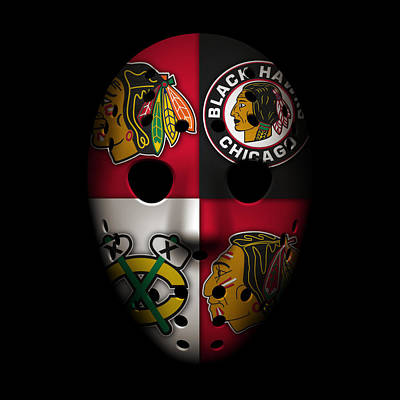 Chicago Blackhawks Print by Joe Hamilton