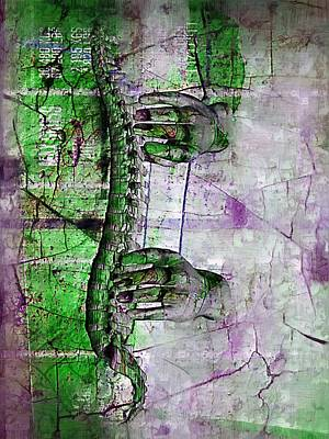 Stress Digital Art - Healing Touch by Joseph Ventura
