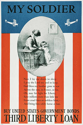 Patriotic Painting - World War I U by Granger
