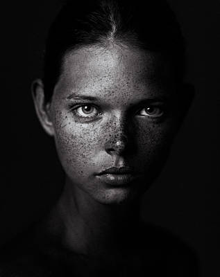 Freckles Photograph - _ by Danil Rudoy