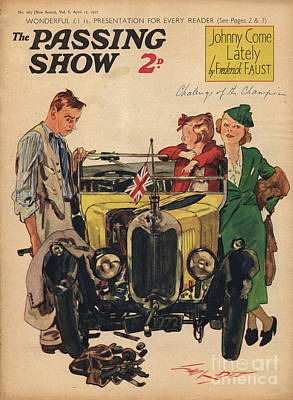 1930s,uk,passing Show,magazine Cover Print by The Advertising Archives