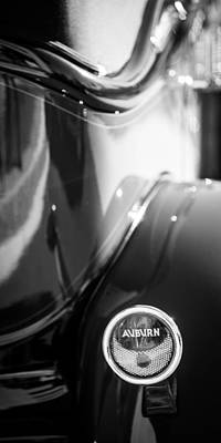 Auburn Photograph - 1932 Auburn Twelve Custom Phaeton Taillight Emblem by Jill Reger
