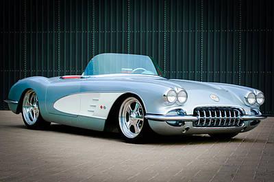 Images Of Cars Photograph - 1960 Chevrolet Corvette by Jill Reger