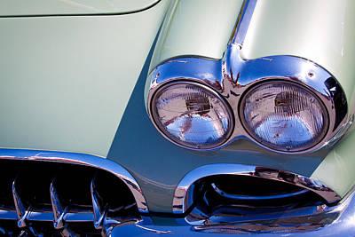 Chevrolet Photograph - 1960 Chevy Corvette by David Patterson