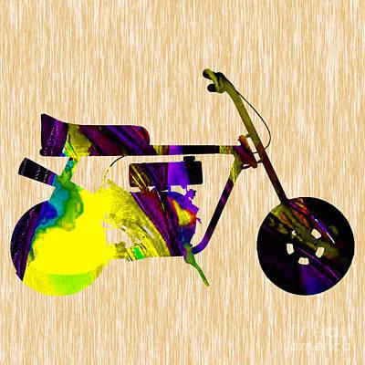 1960s Mini Bike Print by Marvin Blaine