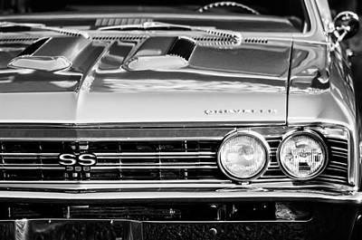 1967 Chevy Chevelle Ss Photograph - 1967 Chevrolet Chevelle Super Sport  by Jill Reger