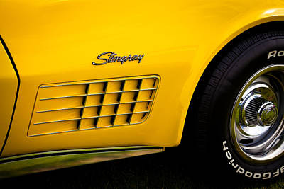Chevy Photograph - 1971 Chevrolet Corvette Stingray by David Patterson