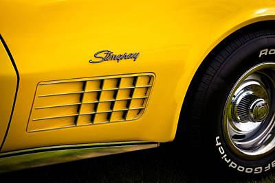 1971 Chevrolet Corvette Stingray Print by David Patterson
