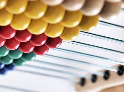 Abacus Photograph - Abacus by Tek Image