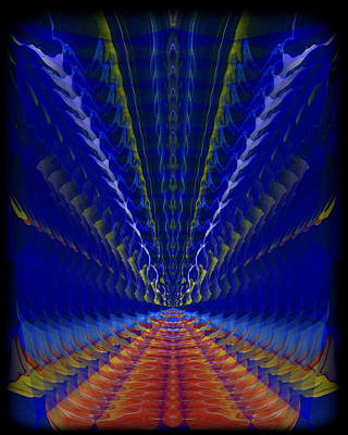 Abstract Digital Painting - Abstract 105 by J D Owen