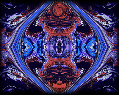 Psychedelic Painting - Abstract 110 by J D Owen