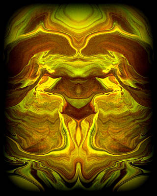 Abstract 118 Print by J D Owen