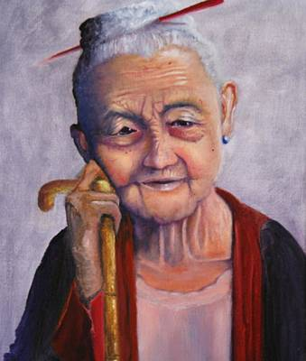 Ageless Painting - Ageless Beauty by Catherine Link