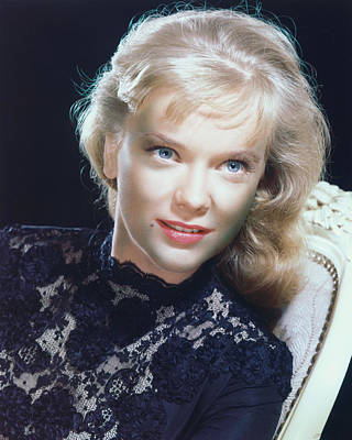 Anne Francis Print by Silver Screen