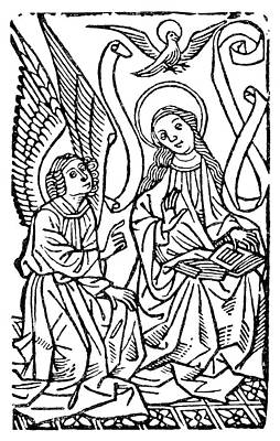 Annunciation Print by Granger