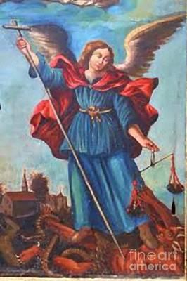 Archangel Print by Matteo TOTARO