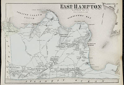Atlas Of Long Island Print by British Library