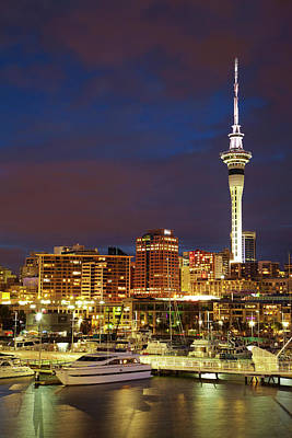 Auckland, North Island, New Zealand Print by David Wall