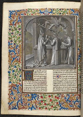 Augustine's 'city Of God' Print by British Library