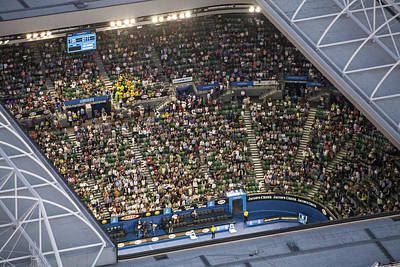 Human Being Photograph - Australian Open Tennis Championships by Brett Price