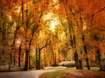 Autumn Impressions Print by Jessica Jenney