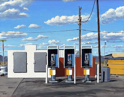 Sonora Painting - Ave. 40 E by Michael Ward