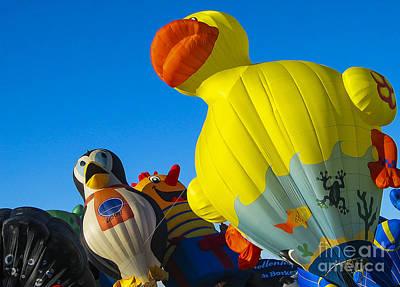 Fiesta Photograph - Balloon Fiesta by Steven Ralser