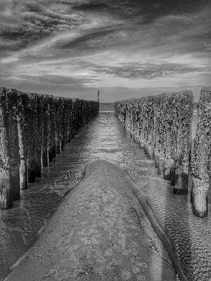 Zeeland Photograph - Barrier And The Sea  by Mountain Dreams