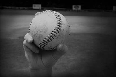 Children Photograph - Baseball by Kelly Hazel
