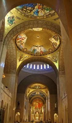 Shrine Photograph - Basilica Of The National Shrine  by Art Spectrum