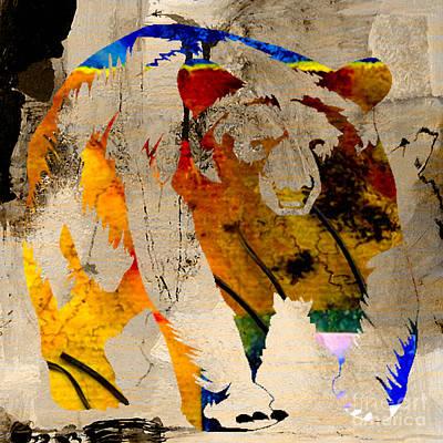 Bear Mixed Media - Bear by Marvin Blaine