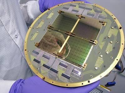 Bicep2 Detector Print by Nasa/jpl-caltech